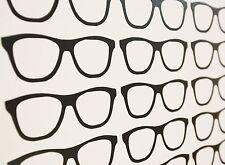 Cool Geek Gafas Pegatinas de Pared Arte Vinilo Calcomanías/- Varios Colores y Tamaños
