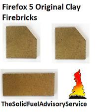 FIREFOX 5 Genuine originale di argilla mattoni mattone Lato Posteriore Indietro FIRE FOX