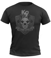 720gear T-Shirt Warrior K9 schwarz black Moral