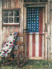 Art Print, Framed or Plaque by Ed Wargo - American Rocker - ED180