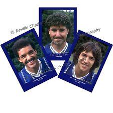 "Leicester City 1983-1984 Player Portraits , 7""x 5"" prints"
