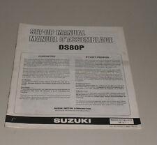 Montageanleitung Suzuki DS 80 P Stand 07/1992