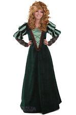 Brand New Renaissance Green Forest Princess Adult Costume