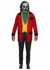 The Joker Red Jacket & Yellow Waistcoat Fancy Dress Halloween Costume Kit
