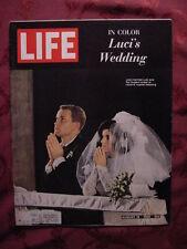 LIFE August Aug 19 1966  LUCI JOHNSON JACQUELINE SUSANN
