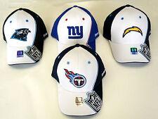 NFL Team Apparel Reebok Structured Flex Cap Hat Curve Brim Choose Size NEW! 9bebee992
