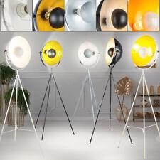 Luxus Steh Stand Lampen Decken Fluter Wohn Zimmer Leuchten schwarz weiß Marmor