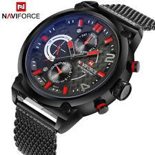 Luxury Brand Men Stainless Steel Analog Watches Men's Quartz 24 Hours