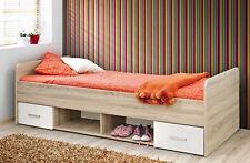 Chambre à coucher d'ENFANTS des jeunes du Bébé Lit d'enfant Dino 2 couleurs