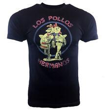 "Men's T-shirt - Los Pollos Hermanos- ""IML""  T-SHIRT WALTER WHITE - DARK BLUE"