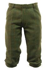 Men's Dark Derby Tweed Plus Fours Breeches Breeks Trousers Hunting Shooting New