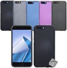 Housse etui coque silicone gel fine Asus Zenfone 4 Max ZC520KL + verre trempe