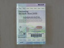 Microsoft Word 2000 englisch - NEU