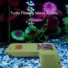 Floating Reptile Pet Turtle Frog Pier Basking Platform Island Dock Aquarium Tank