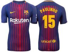 Trikot Nike FC Barcelona 2017-2018 Home - Paulinho 15 [164 bis XXL] Barca