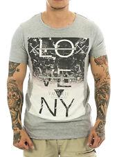 Sublevel Men Shirt 22169 light grey Neu Männer T-Shirt