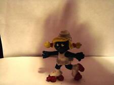 Smurfs Smurfette Roller Skating Figurine