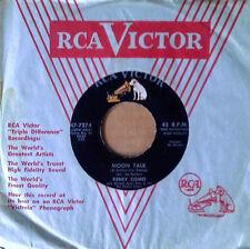 PERRY COMO - MOON TALK b/w BEATS THERE A HEART SO TRUE - RCA 45