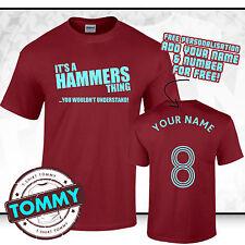 West Ham T-shirt, il suo un MARTELLI cosa, MARTELLI T-shirt West Ham