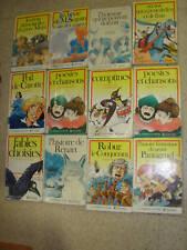 Lot de 12 livres collection Classiques Juniors