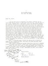 SYD HOFF-CARTOONIST-AUTHOR-DANNY & THE DINOSAUR-HAND WRITTEN/SIGNED 1994 LETTER
