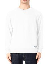 Eleven paris Tupac Men's White Tupac Stretch Jersey Sweatshirt