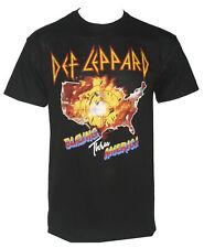 Authentic DEF LEPPARD Blazing Thru America 1983 Tour T-Shirt S M L XL 2XL NEW