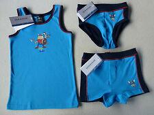 SCHIESSER Jungen Unterhemd Slip New-Shorts WIKINGER Eric & Lenny 104 116 128 140