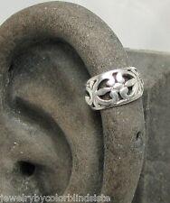 Ear Cuff - Solid Sterling Silver Cuffs - UPPER Helix