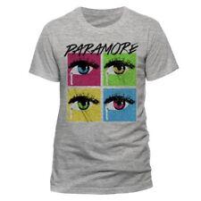 OFFICIAL Paramore-POP Strappo-Uomo Grigio T-shirt