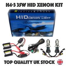 NEW H4-3 35W BI XENON HID CONVERSION SLIM KIT H4-3 HI/LOW FORD VW HONDA