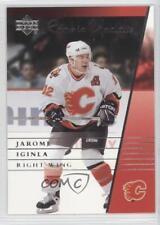 2002-03 Upper Deck Rookie Update #17 Jarome Iginla Calgary Flames Hockey Card