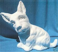 Yorkie Terrier Ceramic Bisque U-Paint Dogs