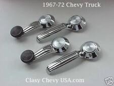 1967-72 Chevy Truck interior window crank & handle set