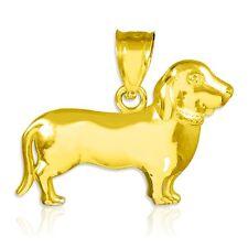 Perfectly Polished Puppy Weiner Dog Charm Dachshund Pendant