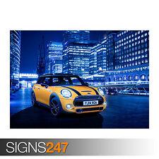 MINI COOPER S (0139) Car Poster - Photo Picture Poster Print Art A0 A1 A2 A3 A4