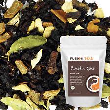 Pumpkin Spice Black Chai - Organic Premium Loose Leaf Tea - Fusion Teas