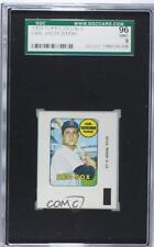 1969 Topps Decals #CAYA Carl Yastrzemski SGC 96 Boston Red Sox Baseball Card