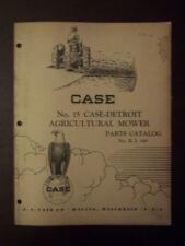 1948 Case No.15 Detroit Mower Parts Catalog No. R. I149