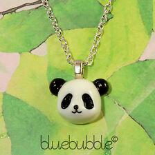 Funky Suerte Collar De Oso Panda Lindo Kitsch Retro Novedad Dibujos Animados Animal Kawaii
