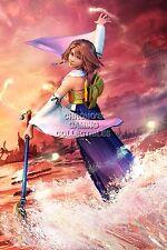 RGC Huge Poster - Final Fantasy X HD Remaster Yuna PS2 PS3 PS4 PS Vita - FFX010