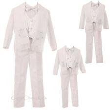 White Boys Baptism Christening Tuxedo Suit Baby Toddler Angel Virgin Guadalupe