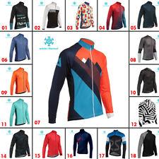 2019 Winter Cycling Thermal Jerseys Bike Clothing Fleece Jackets Mens MTB Jersey