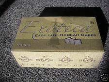 24 x 96pcs Exotica Silver Japanese incense Hookah Charcoal Cube Easy Light Coal