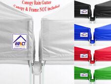 Impact Canopy Rain Gutter Pop Up Canopy Tent Accessory 5'-8'-10'-12'-15'-20'