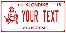 Yukon Canada 1979 License Plate Personalized Custom Car Bike Motorcycle Moped