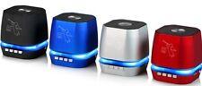 ALTAVOCES ALTAVOZ PORTATIL CON BLUETOOTH INALAMBRICOS DE USB MICRO SD RADIO AUXI