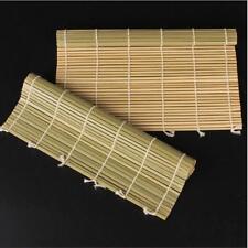 Sushi Mat Rolling Rice Onigiri Maker Bamboo Roller Mould DIY Kitchen Tool Q