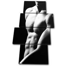 Erotic Sexy Male NUDES MULTI TOILE murale ART Photo Print