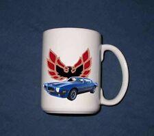 NEW 1973 Pontiac Formula Firebird, and Trans AM 15 Oz mug!!